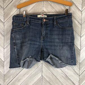 Levi's 529 Denim Cutoff Jean Shorts 8